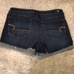 American Eagle Outfitters Shorts - AEO Hi-Rise Shortie 360 Super Stretch Denim X